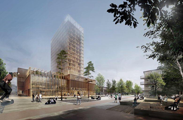 Skellefteå's cultural centre and hotel