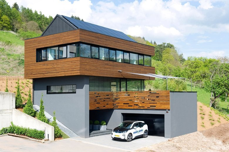 Ecological House in Wood