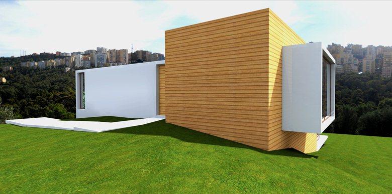 Angle House