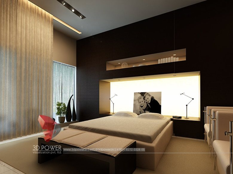 Contemporary and Modern Living room Kitchen and bedroom designs by Awesome 3D Bedroom Design