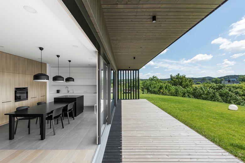 Modern BLACK villa