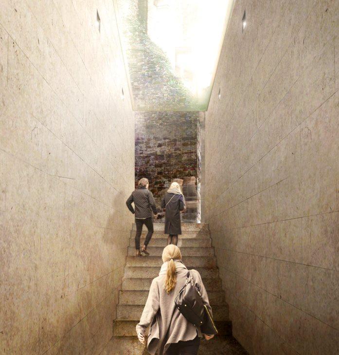 Nuova uscita del museo delle Cappelle Medicee