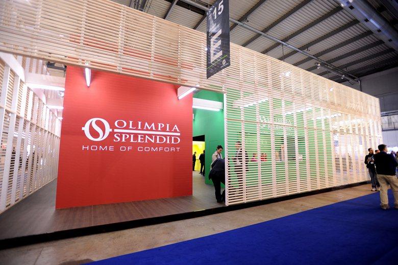 Stand Olimpia Splendid a MCE 2012