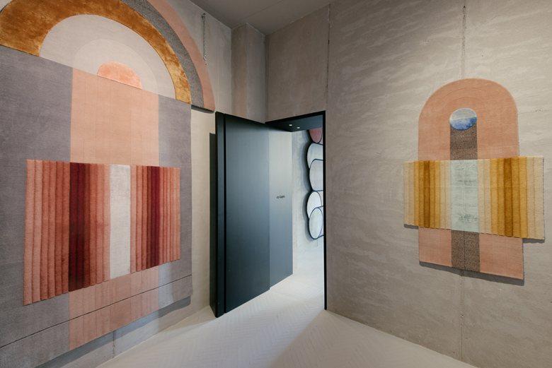 cc-tapis showroom in Milano