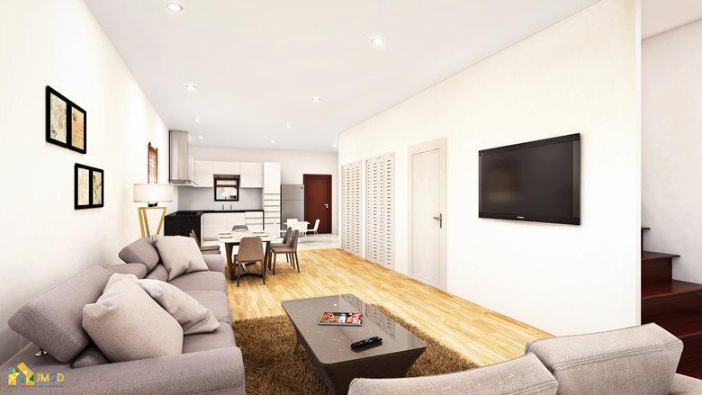 Modern 40D House Interior Design Architectural Rendering Studio Classy 3D Bedroom Design Property