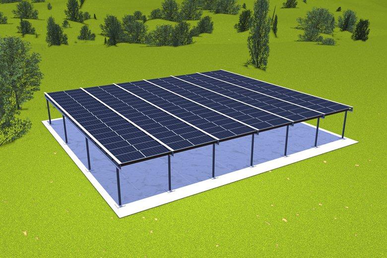 Pergolato fotovoltaico 50kW