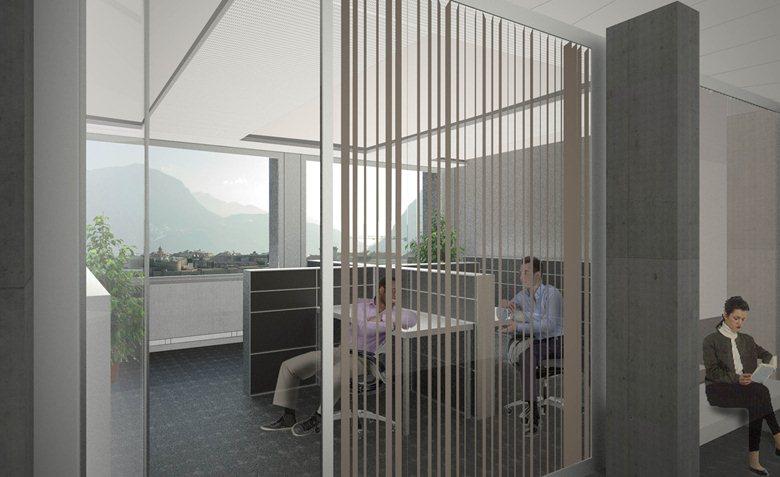 Progettazione e ristrutturazione del Palazzo di Giustizia - 1° classificato