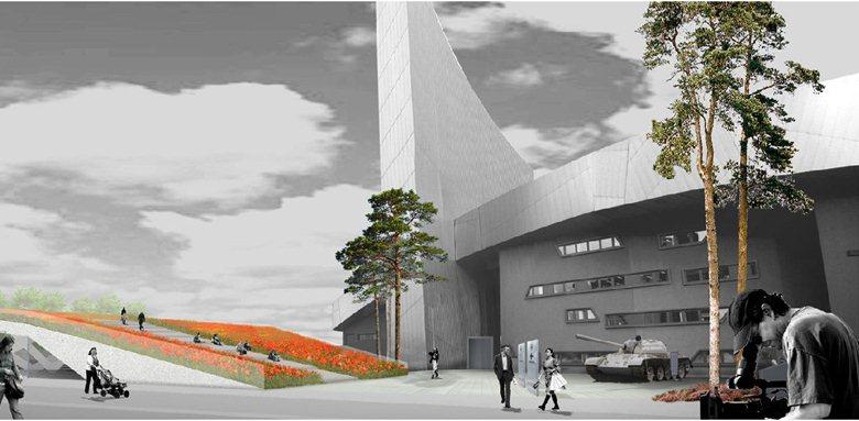 Sistemazione del paesaggio dell'Imperial War Museum North