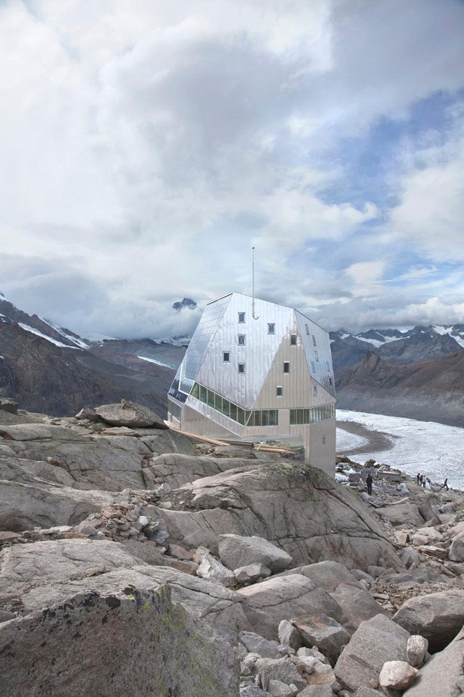 New Monte Rosa Hut