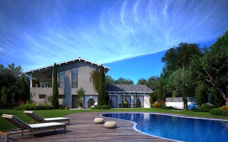 "modern ""dream house""   Savyon, Israel"