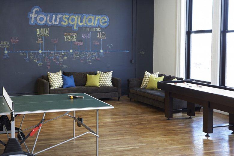 Foursquare's Soho HQ