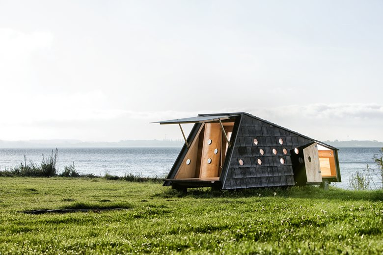 Shelters by the sea