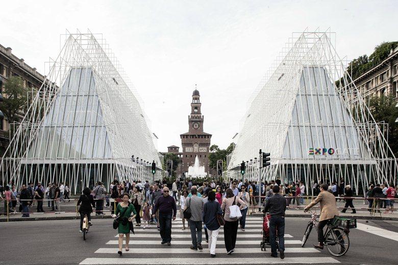 Expo Gate at Expo Milano 2015