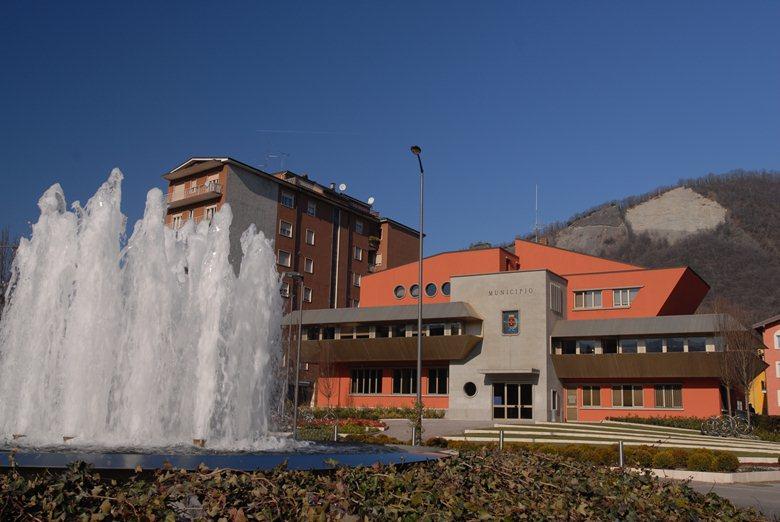 RIQUALIFICAZIONE PIAZZALE MUNICIPIO - SARNICO (BG)