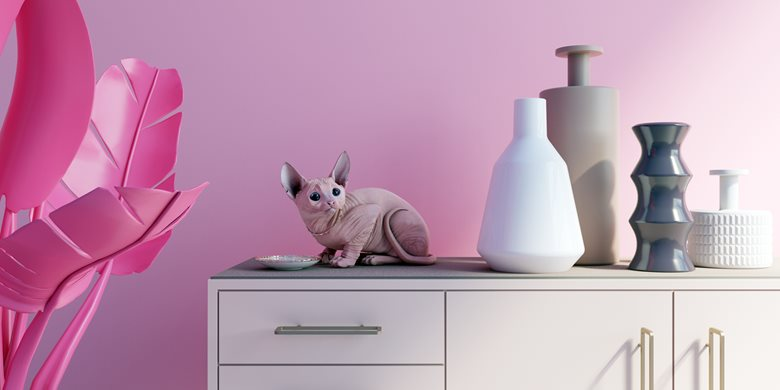 Grafica 3d - Pink vibes