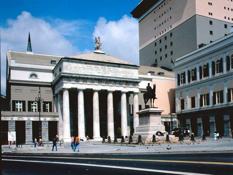 """Ricostruzione Teatro dell'Opera di Genova """"Carlo Felice"""" - Piazza De Ferrari, Genova"""
