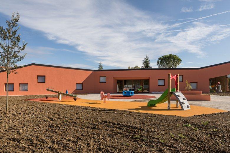 Nuova scuola materna di Ponte d'Arbia (SI)