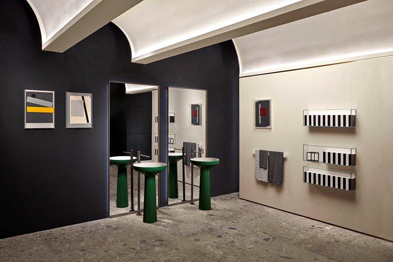 antoniolupi showroom in Porta Tenaglia
