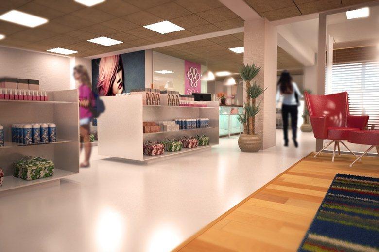 Beauty Clinic Interior Proposal Jose C Quintos