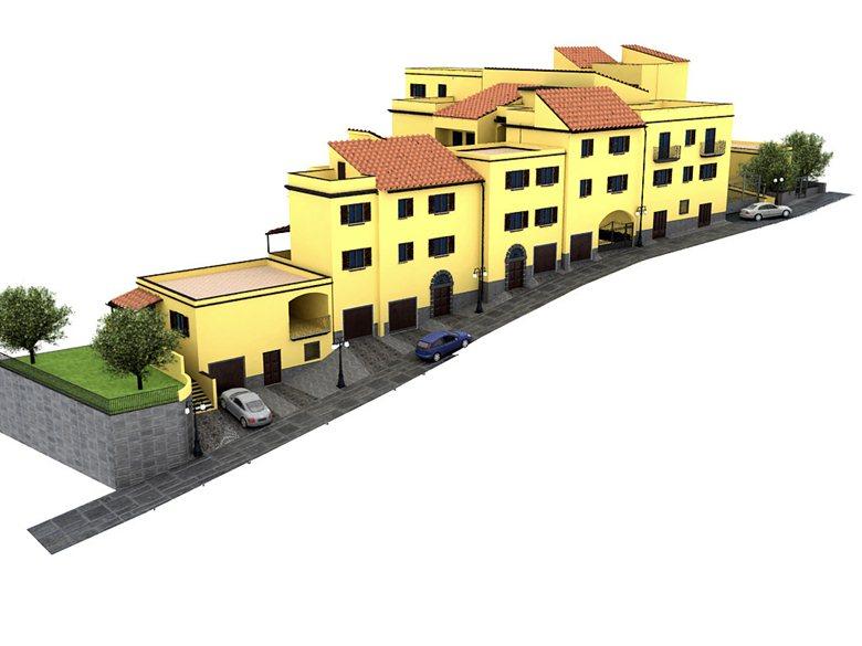 - Progetto di ricostruzione di edifici danneggiati dagli eventi sismici del 23/11/1980 via Casa Oraz