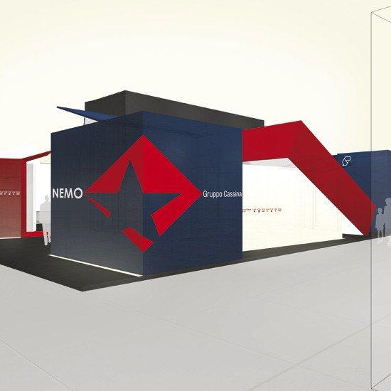 stand NEMO per euroluce 2005