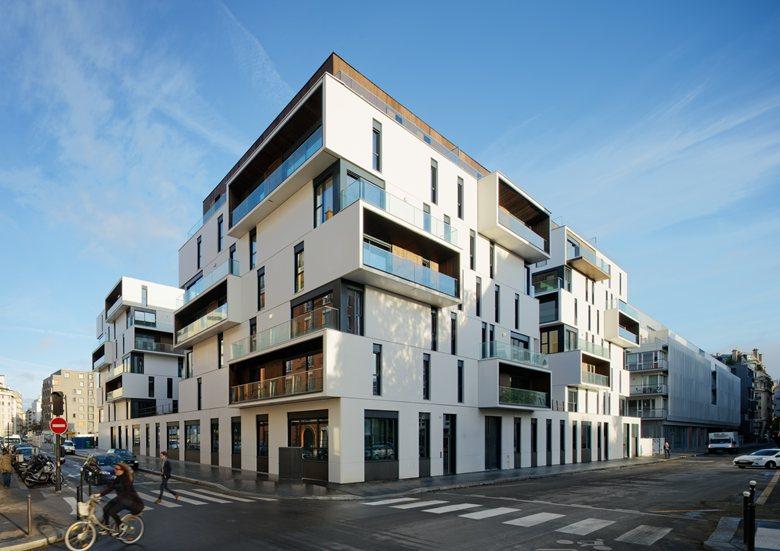 Apartment complex in Paris