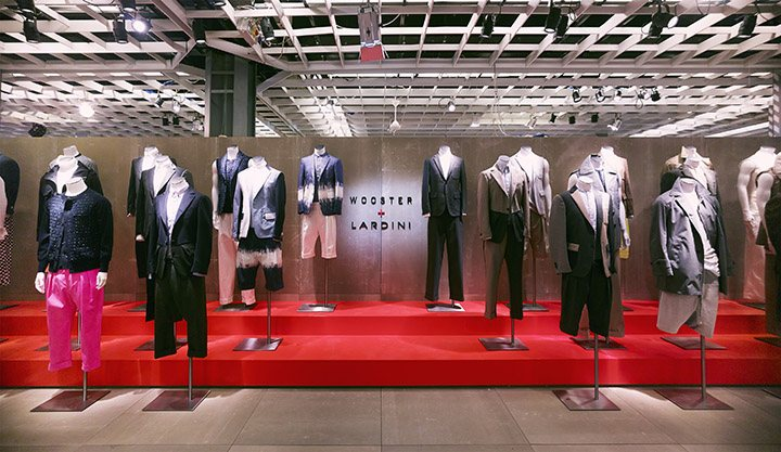 Booth for Wooster+Lardini Collection at Pitti Immagine Uomo
