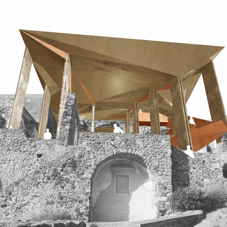 Riconfigurazione della Cattedrale del Castello Aragonese di Ischia-1° classificato