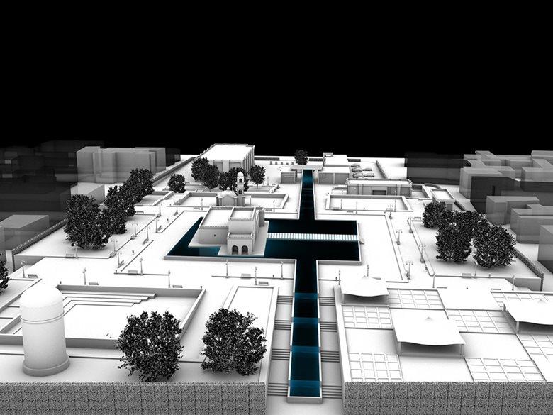 پروژه نوسازی پارک مشاهیر قزوین