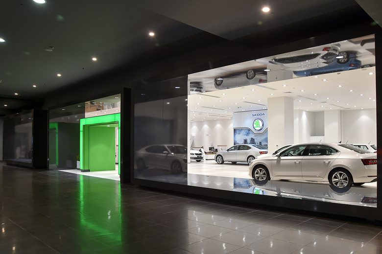 Car Showroom in Istanbul