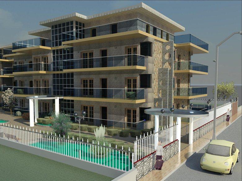 Progetto di fabbricati per civile abitazione