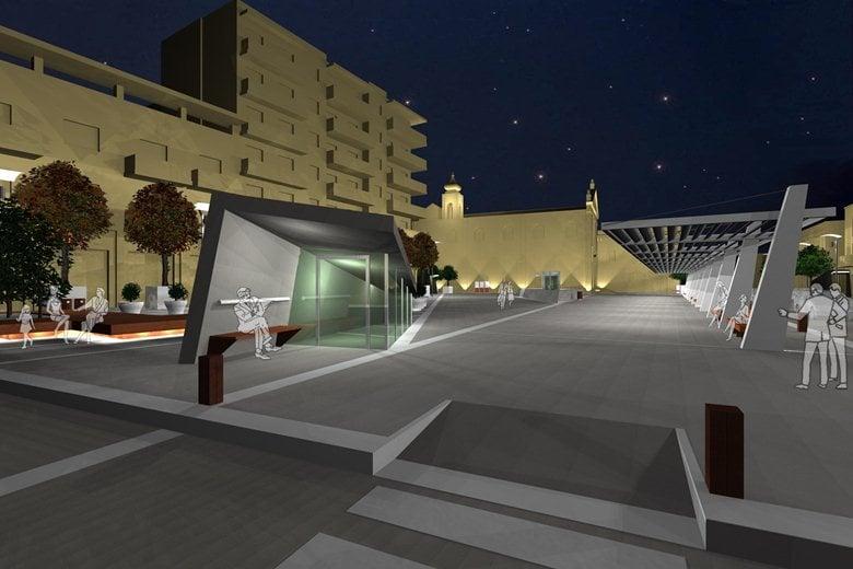 progetto per piazza Moro
