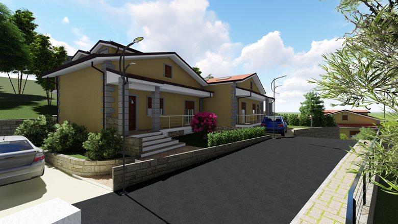 """Progetto per la realizzazione di 7 ville unifamiliari relative all'insediamento abitativo """"Camilla Residence 2"""""""