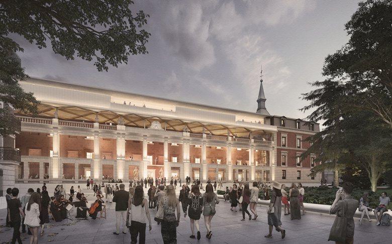 Museo del Prado Competition - Refurbishment of the Salón de Reinos