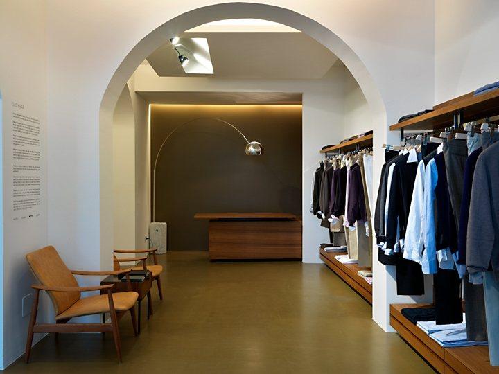 Officina Slowear Store in Milan