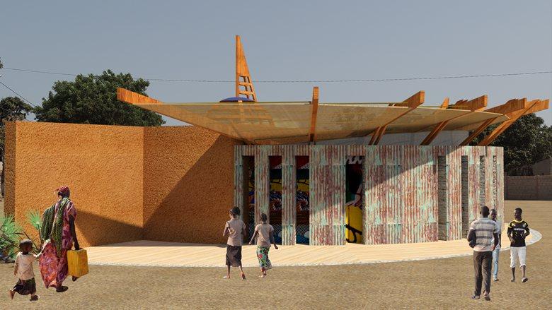 centro religioso in Senegal