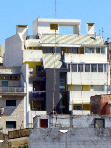 Edificio per la residenza e uffici