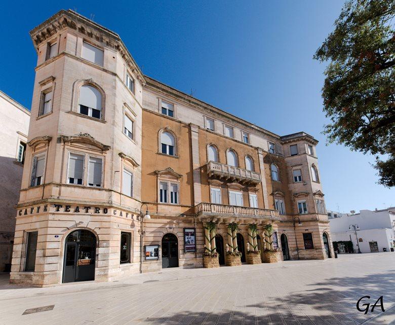 Restauro e valorizzazione del Teatro Verdi di Martina Franca