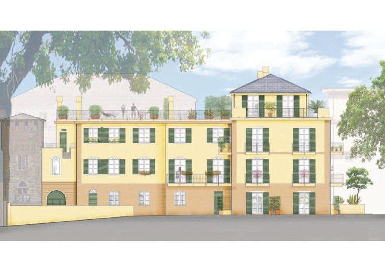 Complesso residenziale e sede Vigili Urbani  in Via Colla, 32 - Celle Ligure (Sv)