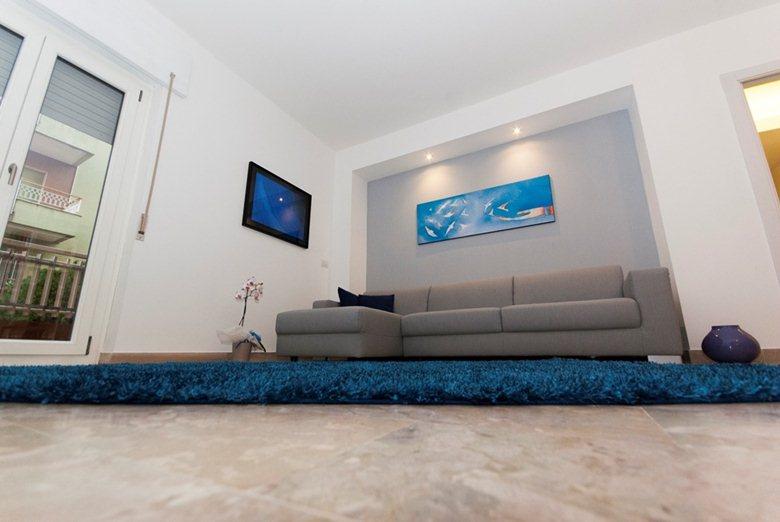 Apartment in blue