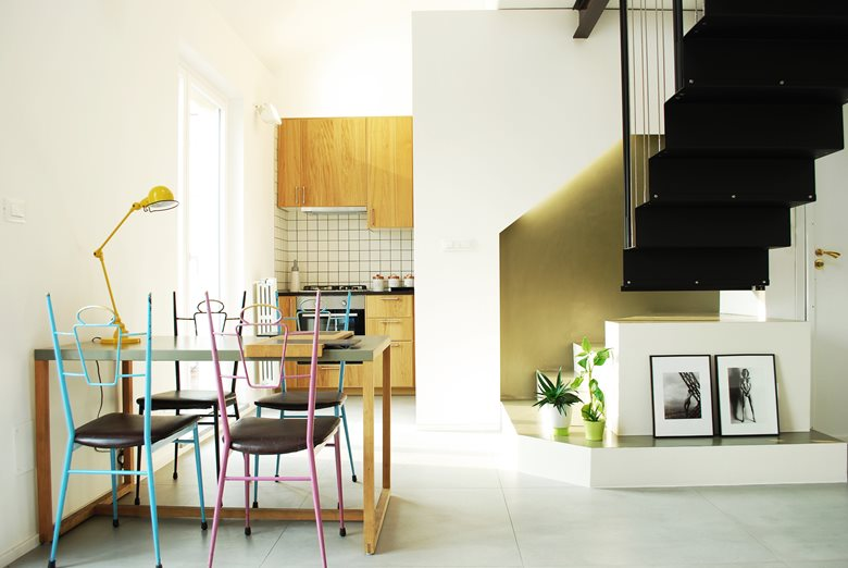 Rolling Stairs Duplex