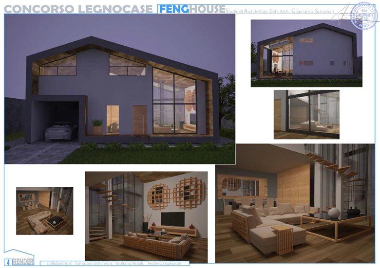 Concorso ''LegnoCase''_ Feng House