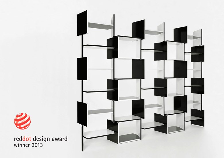 X SYSTEM - bookcase / design Jan Vacek