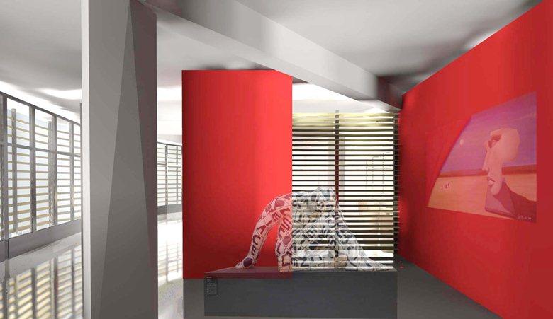Realizzazione di un ristorante con sala espositiva