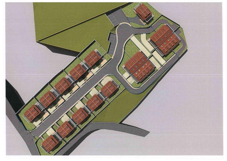 """Progetto la realizzazione di 19 villette unifamiliari relative all'insediamento abitativo """"CAMILLA residence"""""""