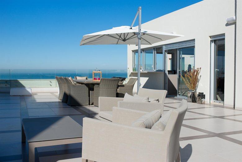 sea front penthouse