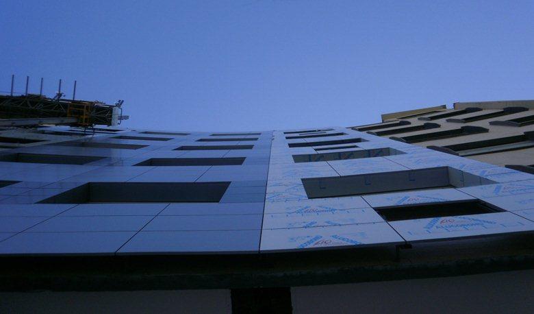 Cantiere Clinic Center Napoli work in progress