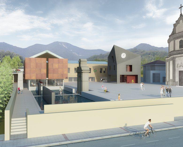 Nuova sede municipale e servizi collettivi con creazione di piazza pubblica a Cenate Sopra - Partecipazione