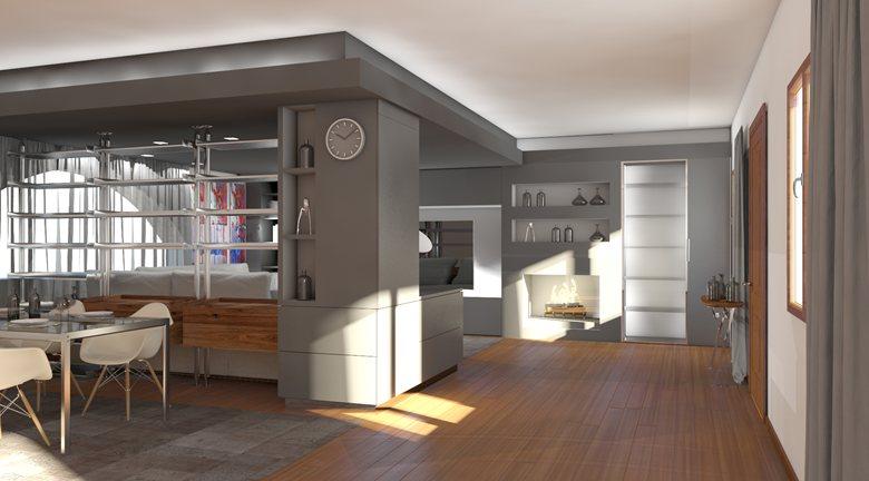 House mz zona living federico candio for Zona living design
