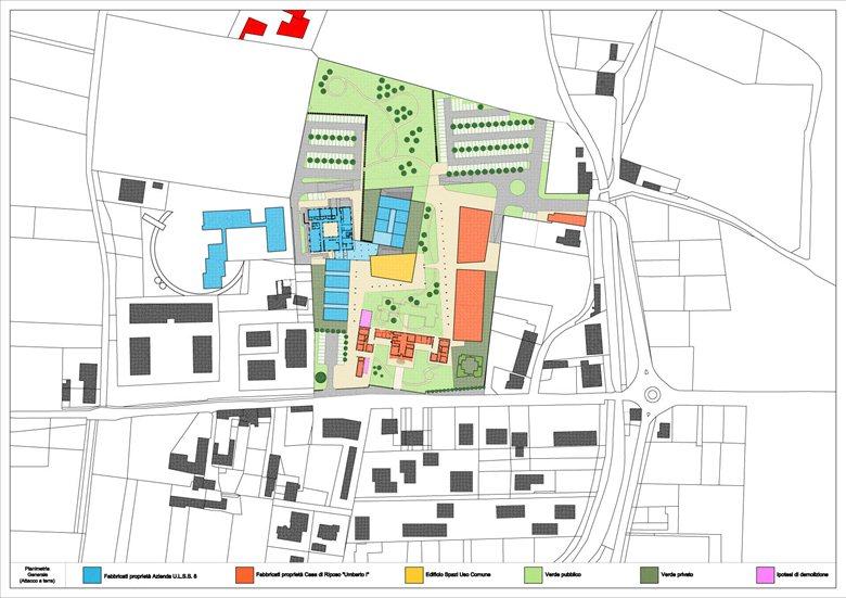 Riqualificazione dell'area dell'ospedale Vecchio di Montebelluna